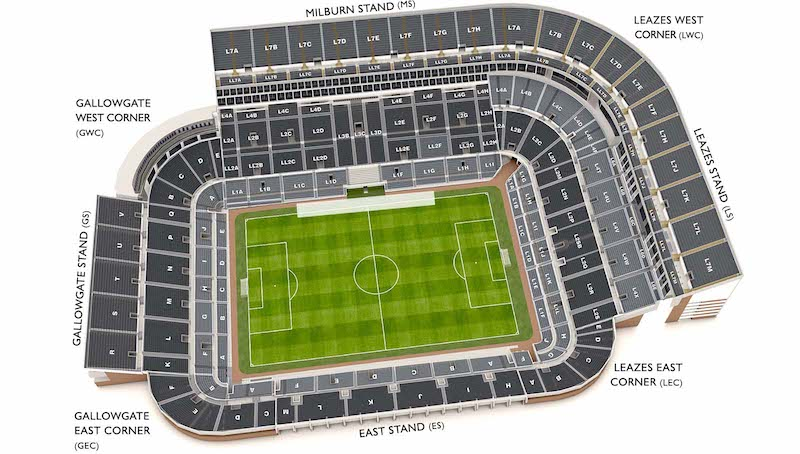 St James' Park stadium plan