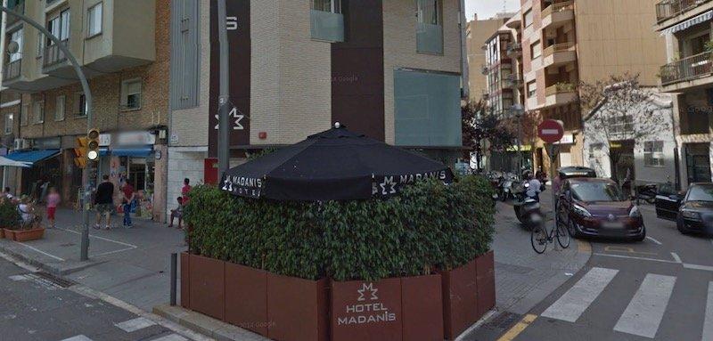 hotel near Camp Nou