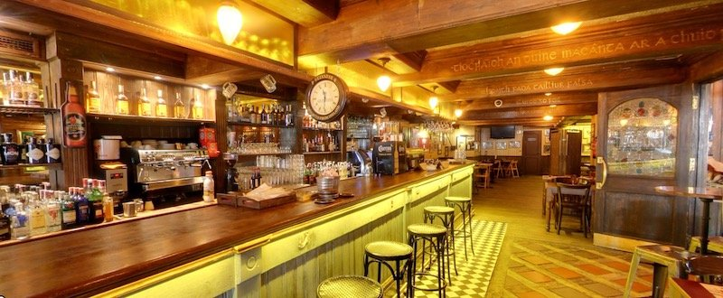 pub near Santiago Bernabeu
