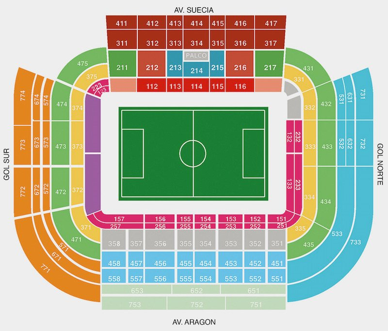 Mestalla seating plan