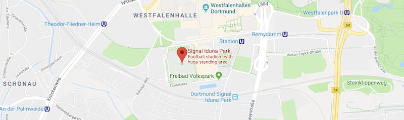 Signal Iduna Park on the map