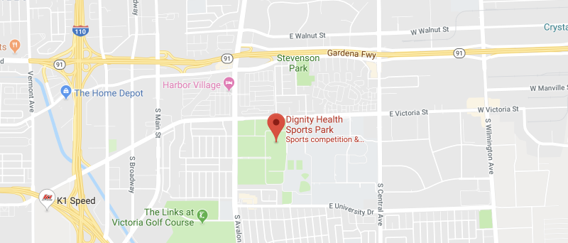 Dignity Health Sports Park on the map