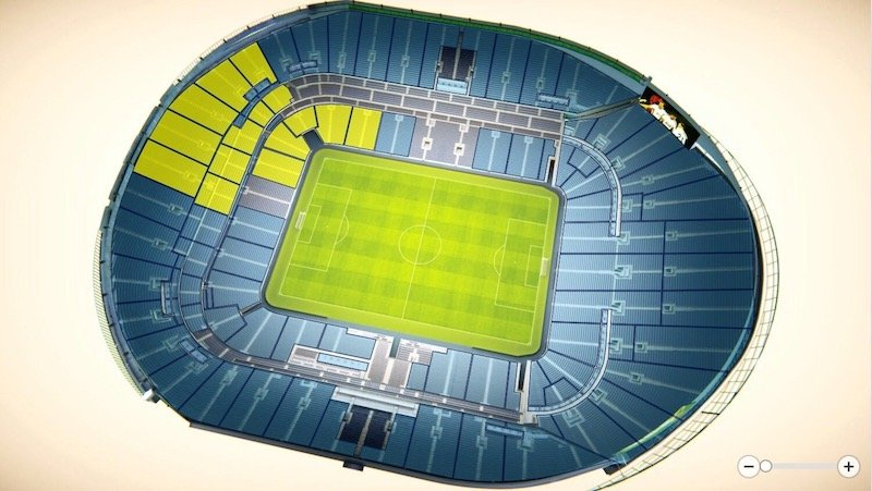 Tottenham Hotspur Stadium seating plan