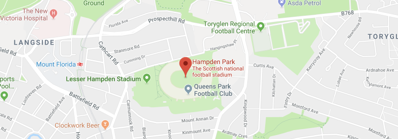 Hampden Park on the map