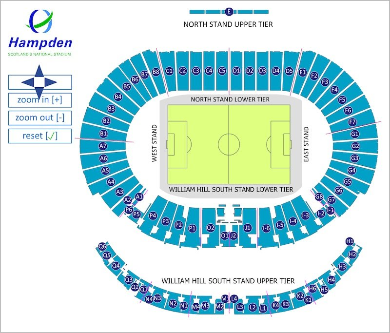 Hampden Park seating plan