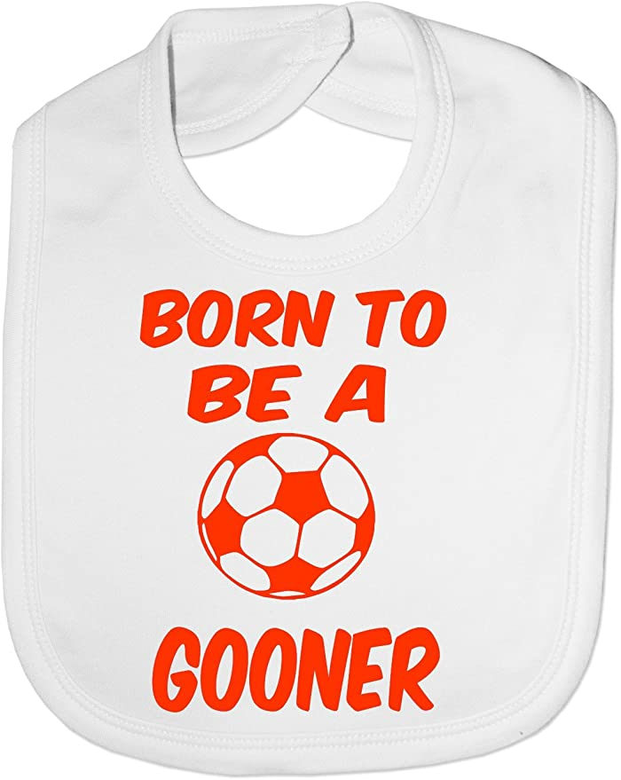 Arsenal baby bib