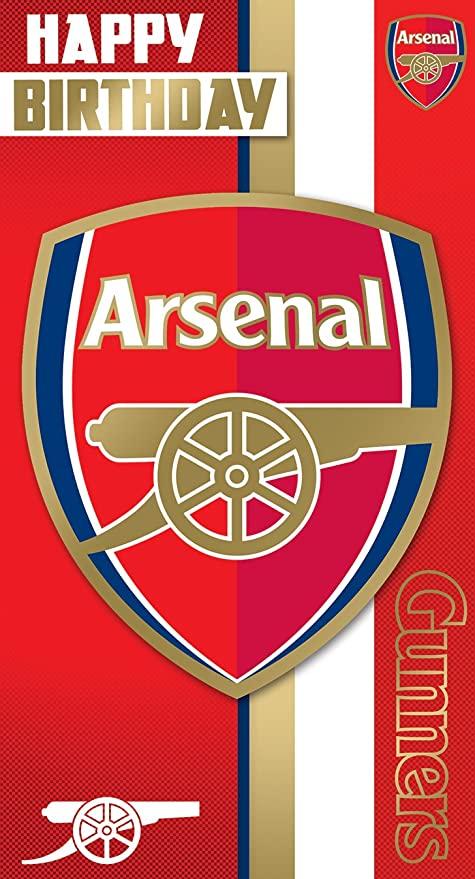 Arsenal birthday card