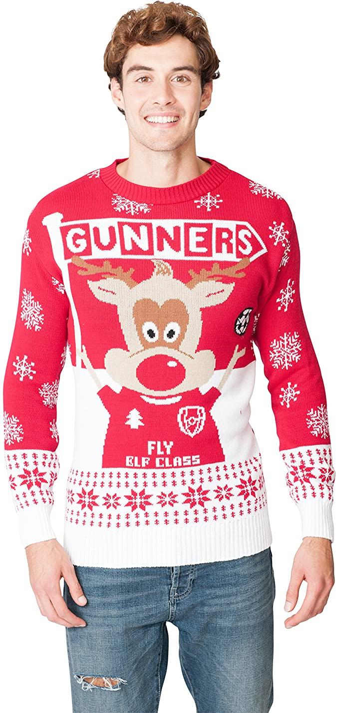 Arsenal christmas jumper