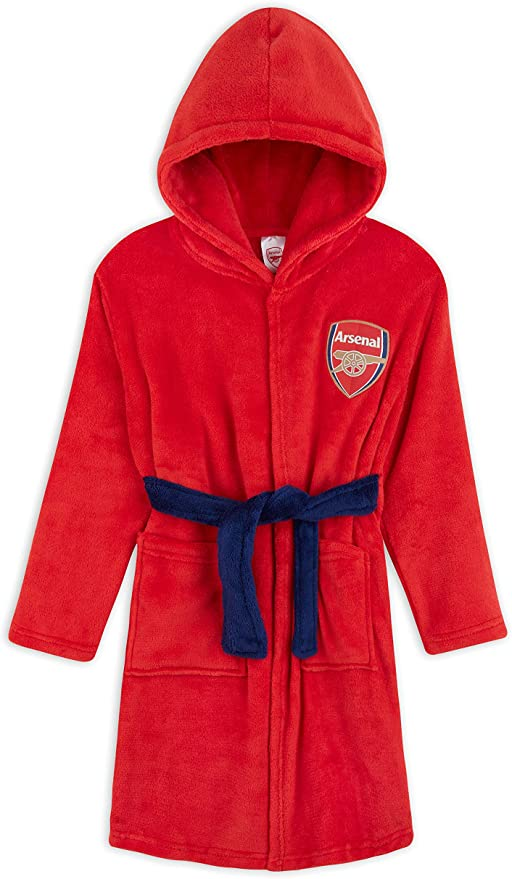 Arsenal kids dressing gown