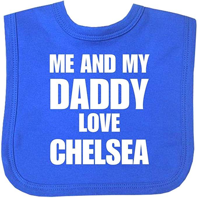 Chelsea baby bib