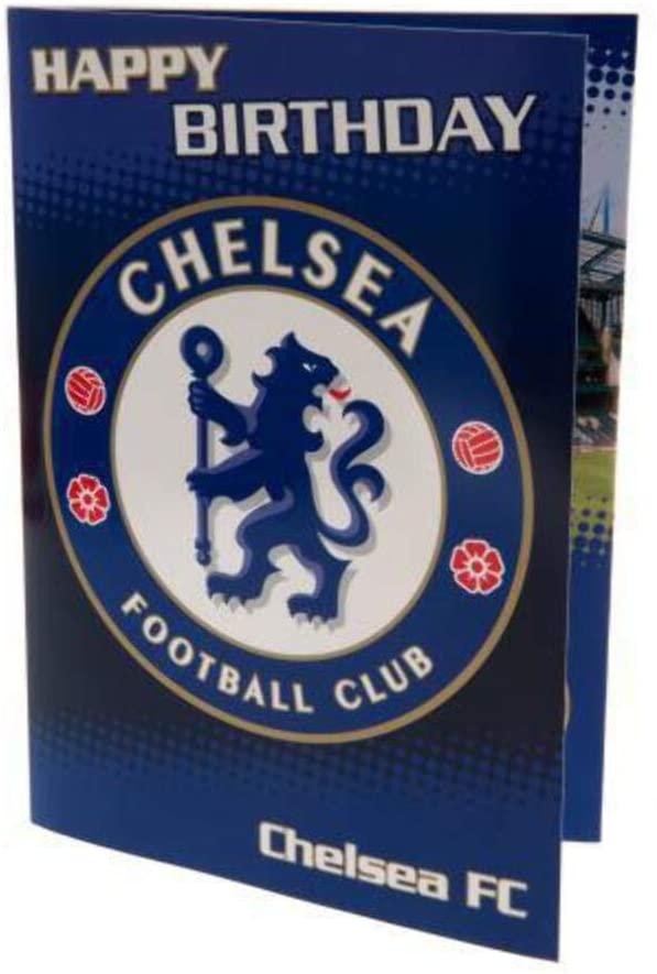 Chelsea birthday card