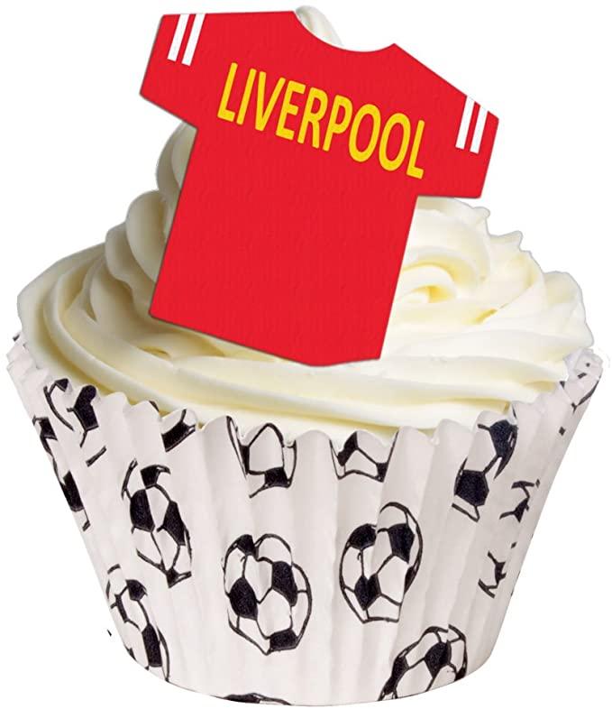 Liverpool cake topper