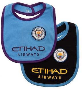 Manchester City baby bib