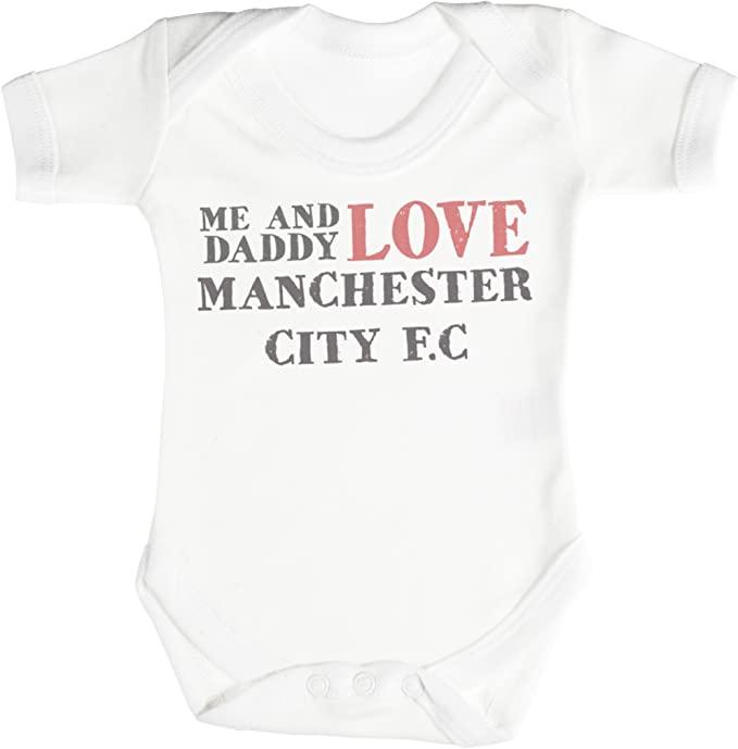 Manchester City baby bodysuit