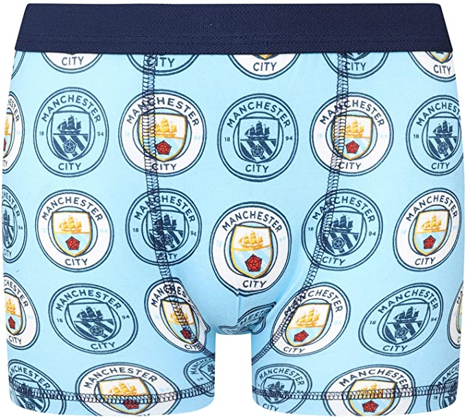Manchester City boys boxer shorts