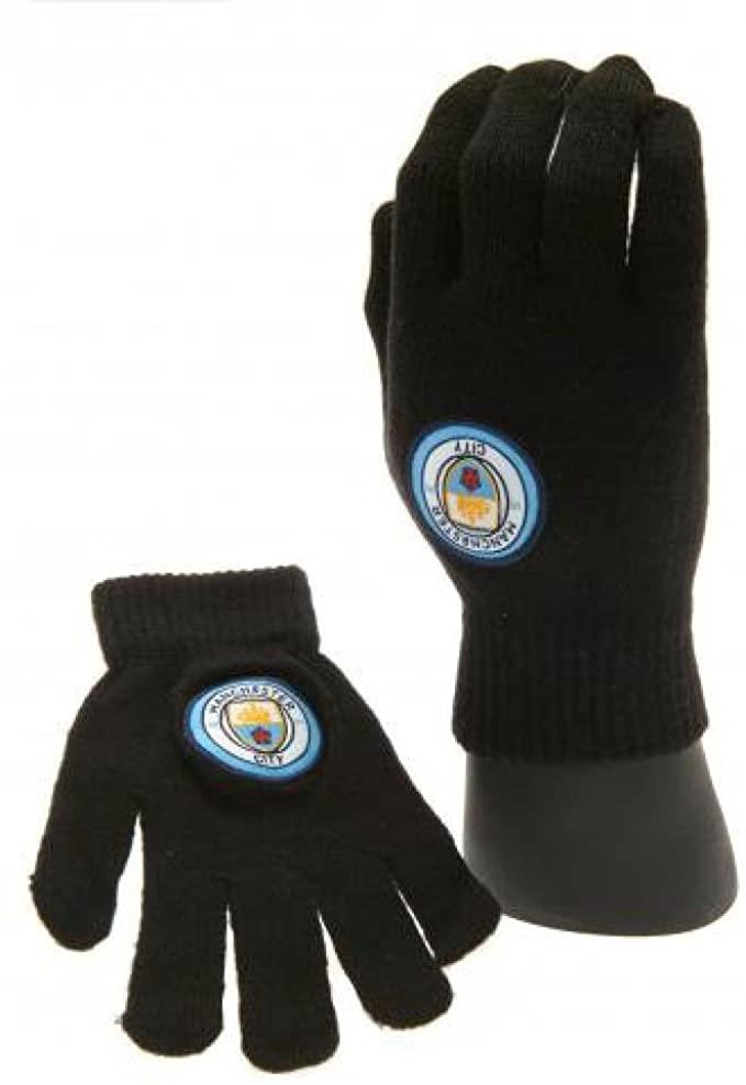 Manchester City kids gloves