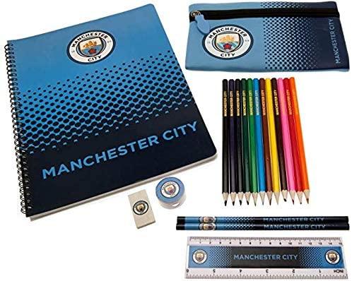 Manchester City stationery set