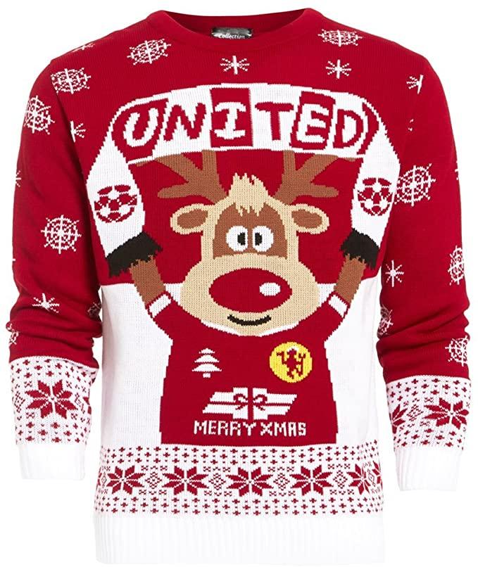 Manchester United Сhristmas jumper