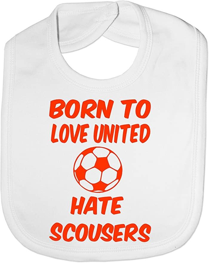 Manchester United baby bib