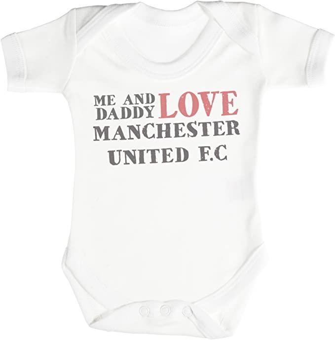 Manchester United baby bodysuit
