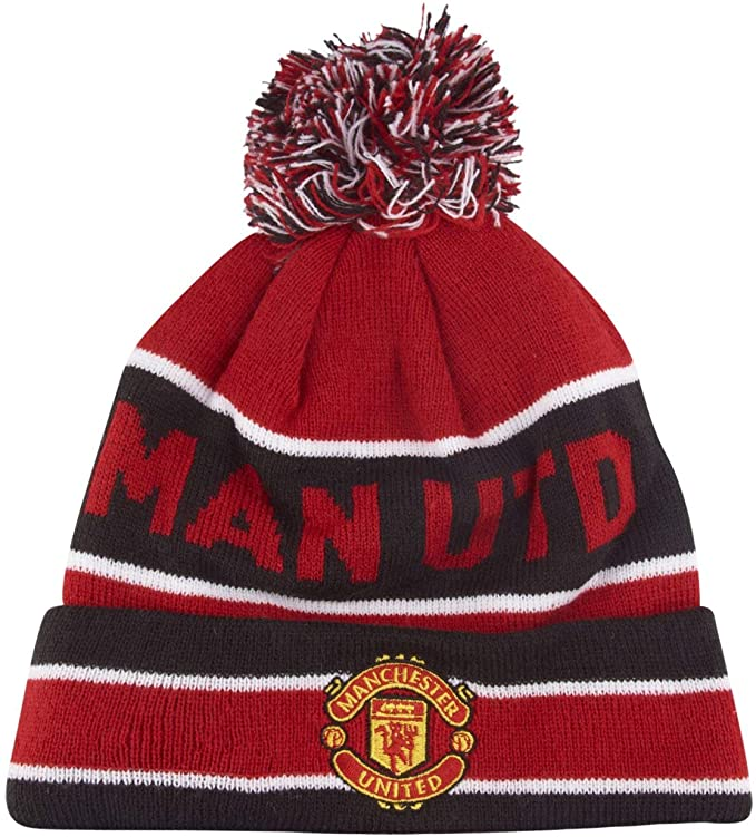Manchester United bobble hat