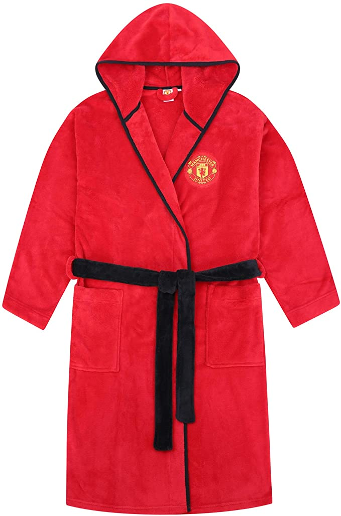 Manchester United dressing gown kids
