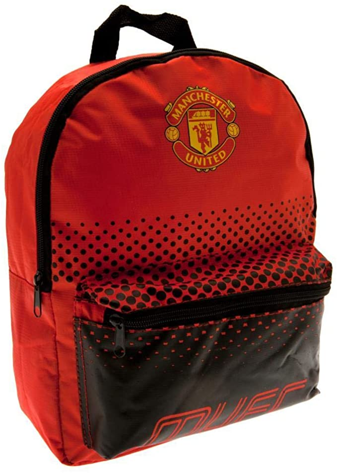 Manchester United school bag