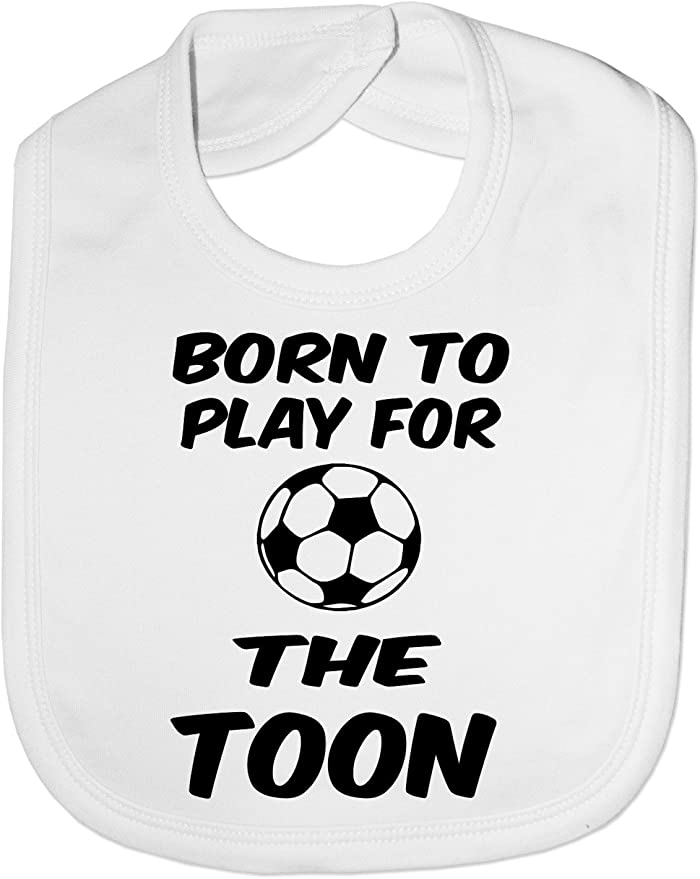 Newcastle United baby bib