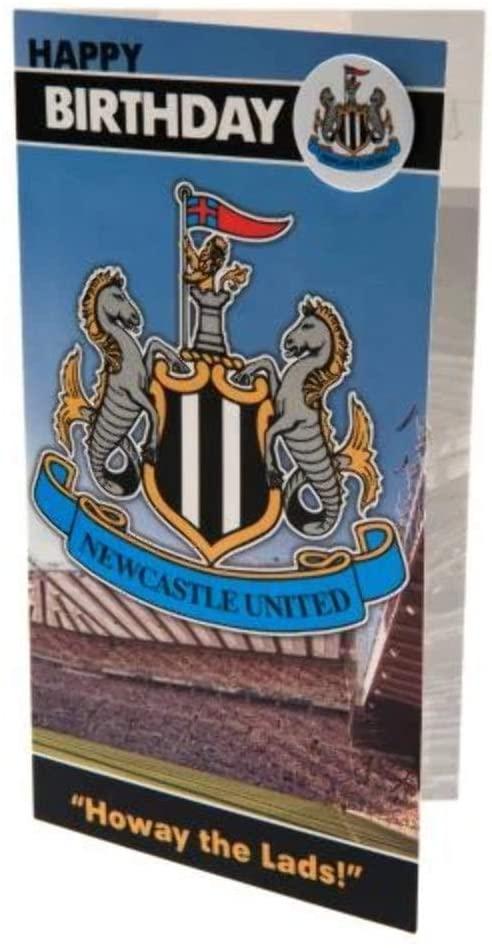 Newcastle United birthday card