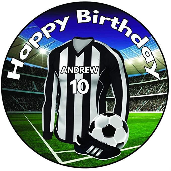 Newcastle United cake topper